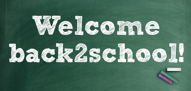 Welcome back2school