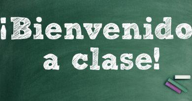 Bienvenido a clase
