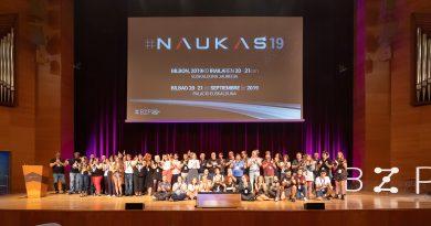 Los ponentes de Naukas Bilbao 2019